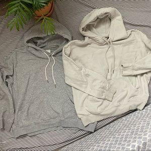 Pair of hoodies from H&M